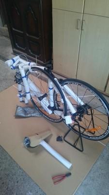 サイクリングエクスプレス完成車梱包