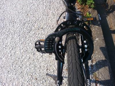 GORIN ボタン式リング錠 クロスバイク用