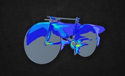 空気抵抗のイメージ図