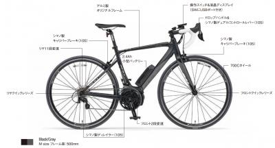 YAMAHA 電動ロードバイク YPJR A3