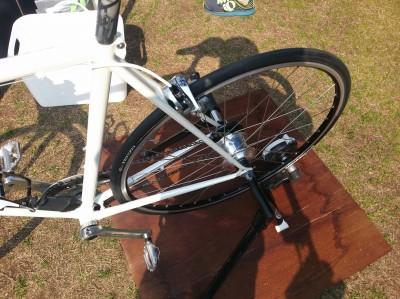 シマノ内装11S ALFINE Di2搭載クロスバイク