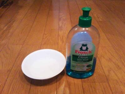 ウォーター&中性洗剤