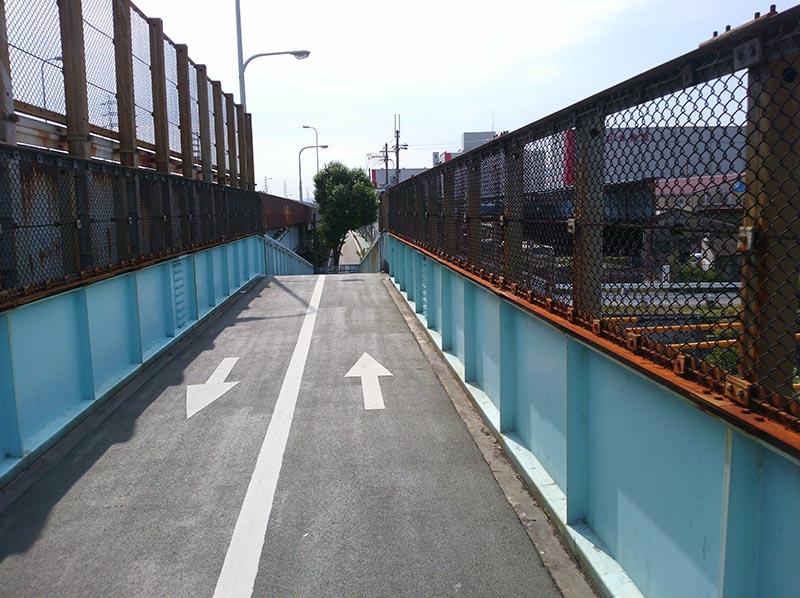 JR福知山線 陸橋