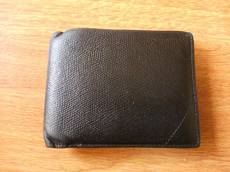 牛革のマイお財布