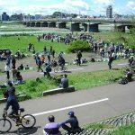関戸橋自転車フリマ 正月の臨時開催 2017年は例年通り1月2日の予定