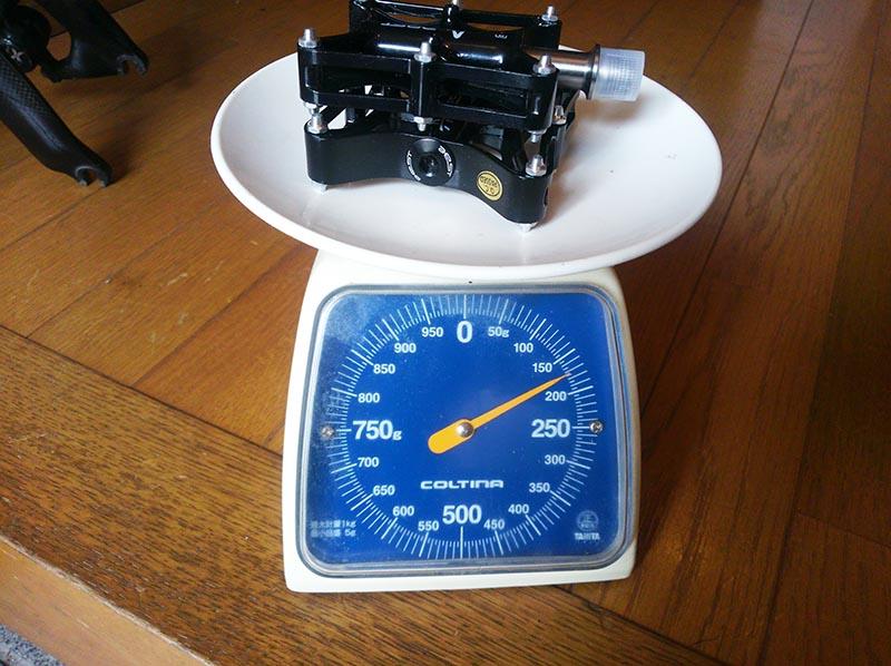 ペア重量実測170g!