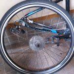 クロスバイクのホイール交換はエクストラ至難ハード