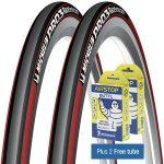 Michelin Pro3 チューブ込みの2本セットが処分価格大バーゲンの4000円!