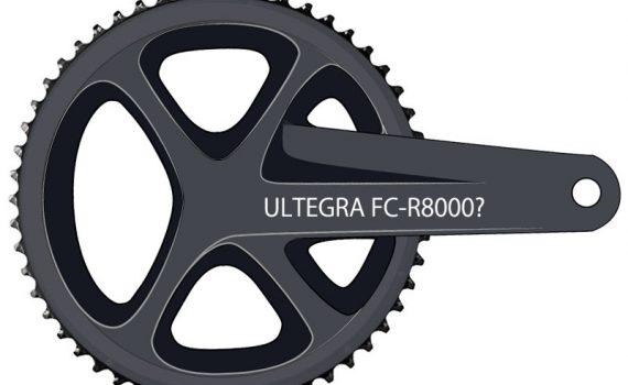Ultegra Fc-R8000 クランク予想図