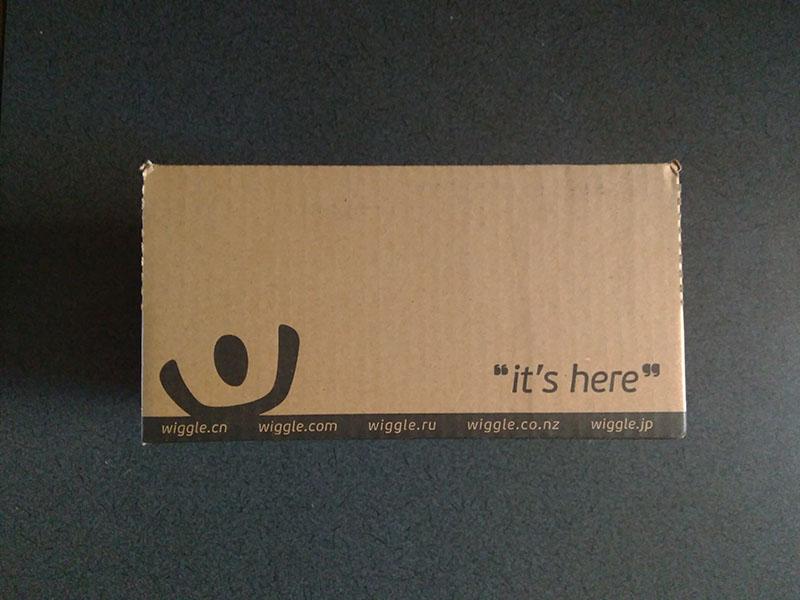 Wiggle追跡なしのスタンダード配送梱包