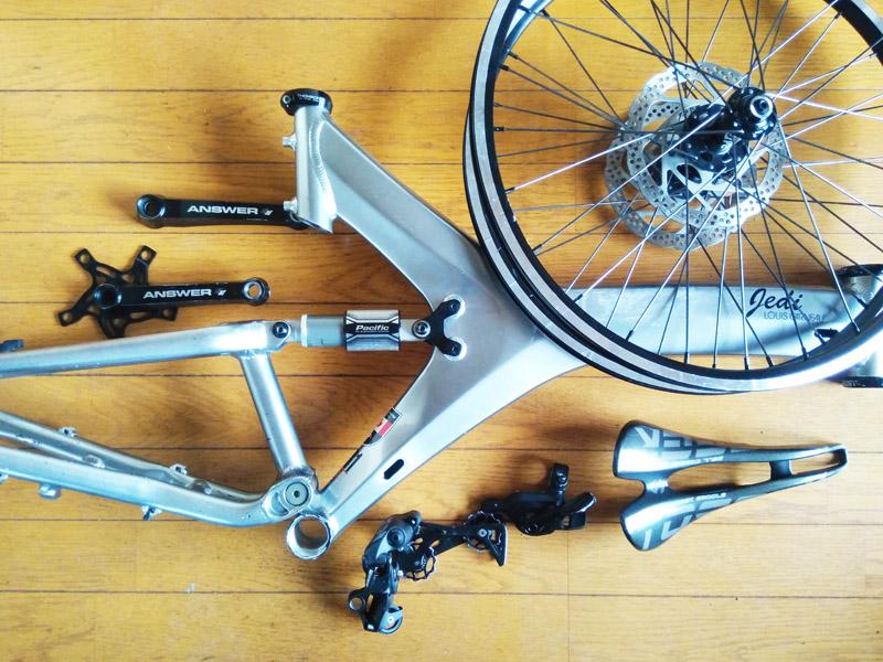 中古自転車パーツ