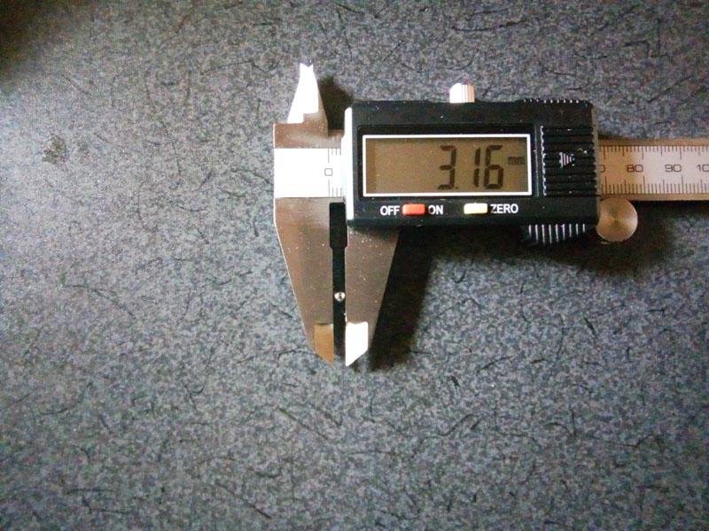 ベアリングボール直径3.16mm