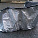 ロードバイク室内保管 『タイヤ=土足』を打ち破る魔法はグラビティ!