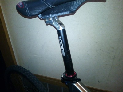 sdg saddle kore seatpost arteck sim