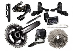 Shimano XTR Di2 M9050 11 Speed Triple Groupset