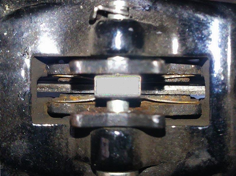 ディスクブレーキのベストクリアランス
