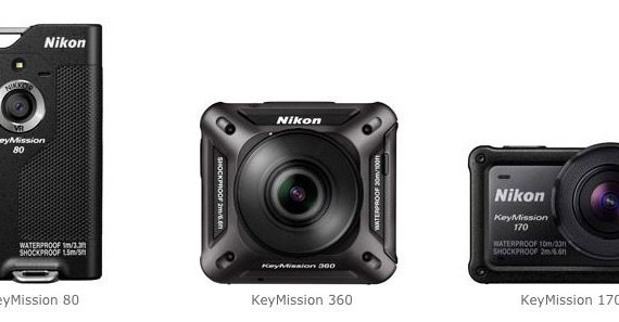 ニコンアクションカメラ KeyMission