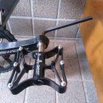 ペダルを超軽量170gのチタンシャフトのものに交換 外し方と付け方