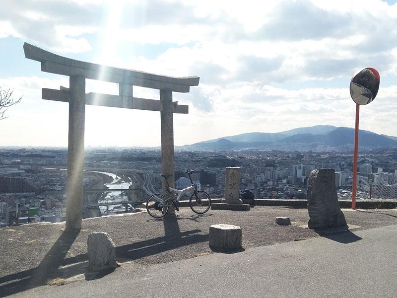 五月山ヒルクライム名所 秀望台
