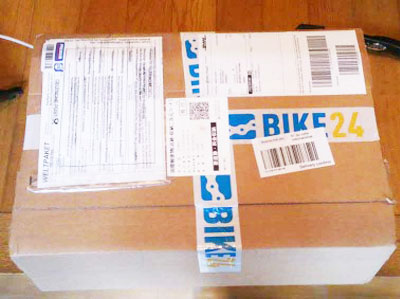 Bike24のパッケージ
