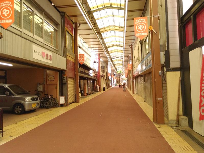 浜大津の商店街