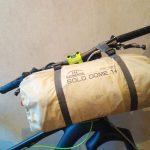 自転車野宿にBUNDOKソロキャンプドームテントSOLO DOME 1+を入手