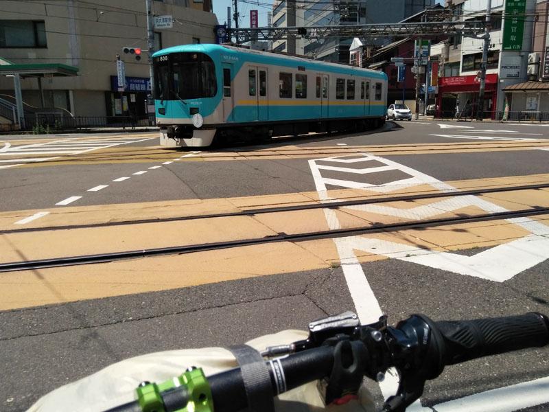 京阪京津線 路面電車