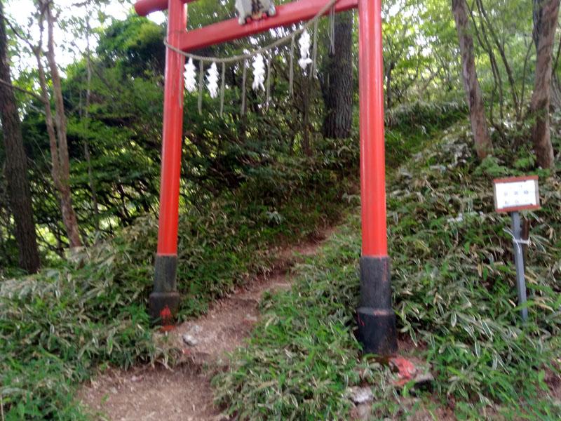 六甲山神社鳥居