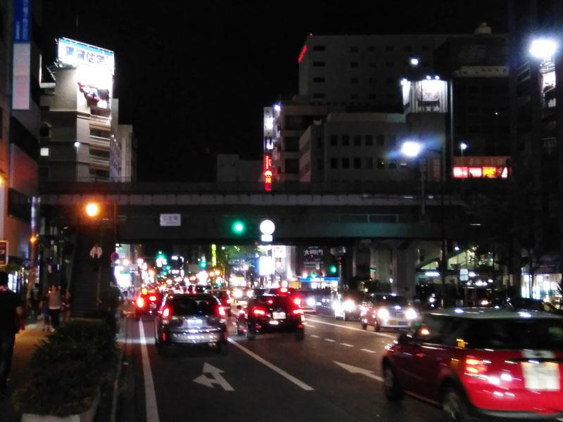 夜の江坂ステージ