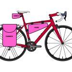 自転車のバッグ 手軽なサコッシュから本格ツーリング用のパニアまで