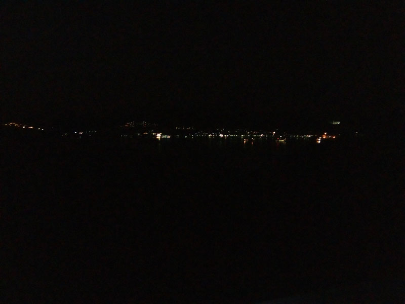 福良の夜景
