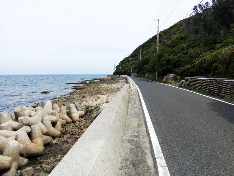 淡路島25号線から31号線の典型的風景