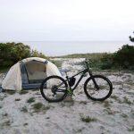 アワイチバイクパッキング1日目後編 洲本 ナゾパラ 吹上浜キャンプへ