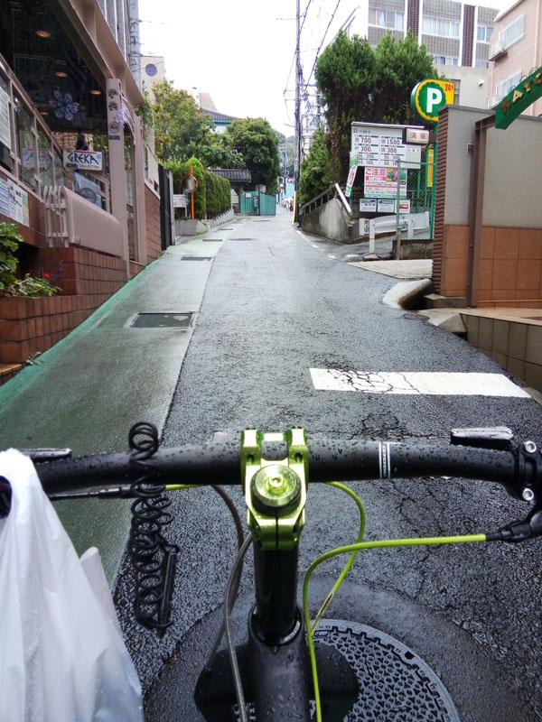 神戸の山の手の勾配
