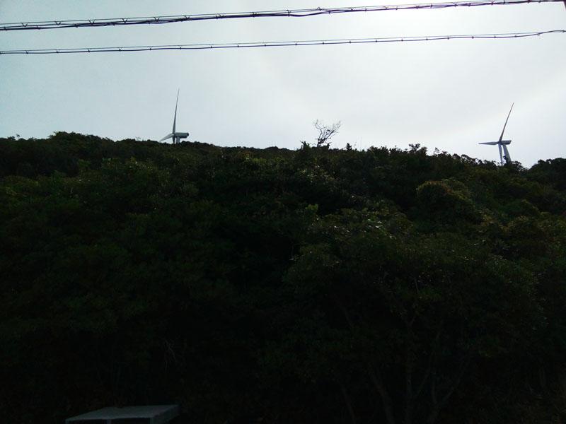 淡路島東部風力発電の風車