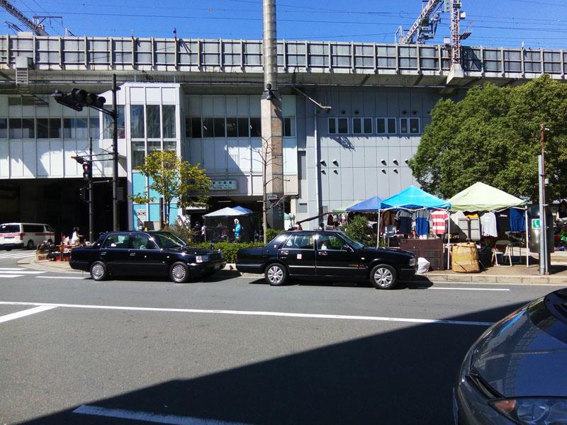 JR新大阪東出口前広場