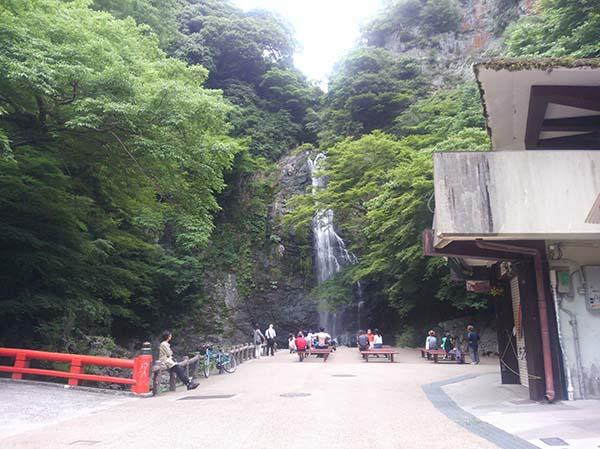 箕面滝2016年6月11日