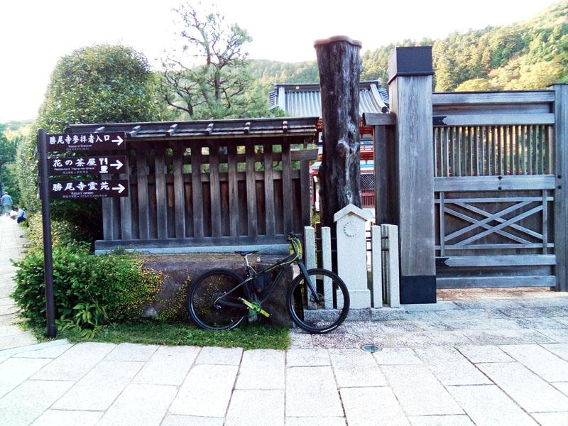 2017年10月8日勝尾寺