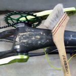 ベランダでする自転車の洗車 洗い方はフレーム乾拭きがおすすめ