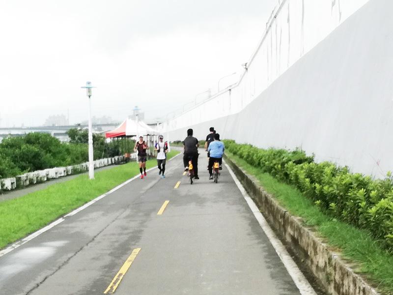 初心者のサイクリング
