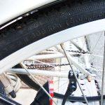 自転車のタイヤの空気圧 ママチャリ ロード MTBなどの車種は無関係