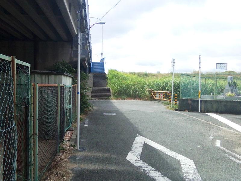 猪名川サイクリングロード入り口