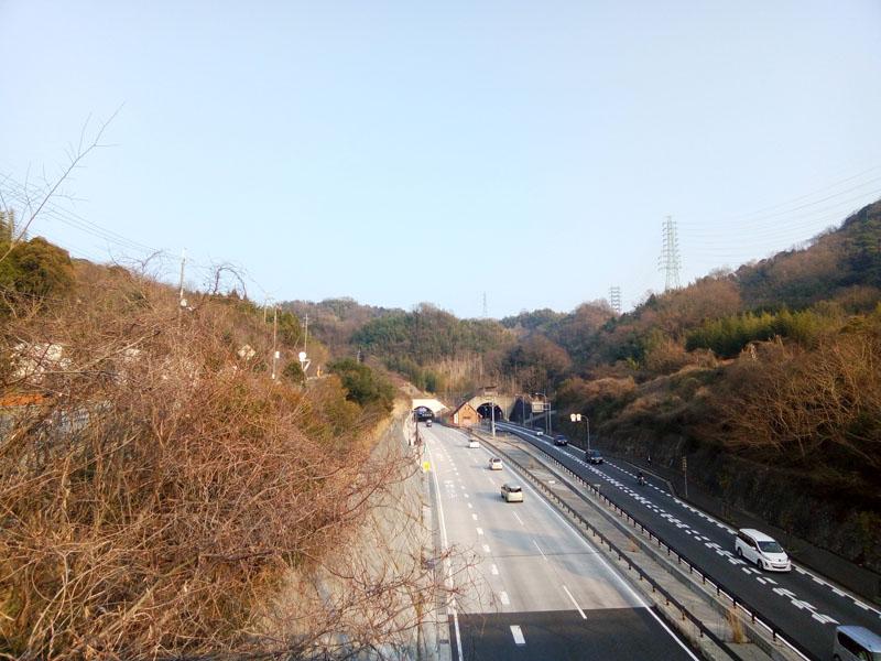 上清滝袴道橋から
