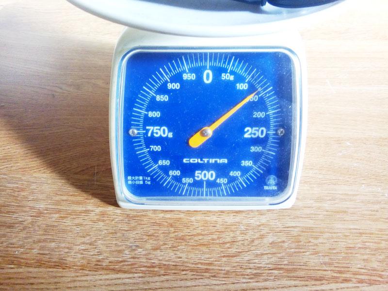 Bbright フルアルミ重量