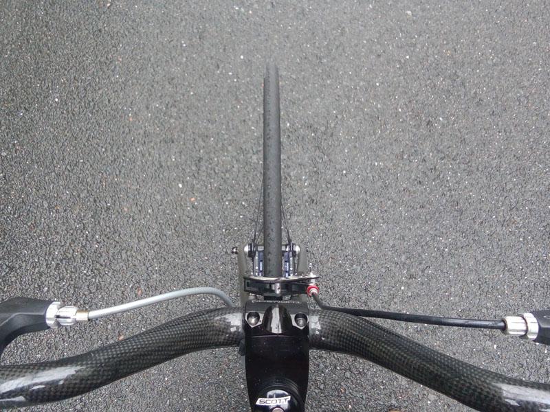 ブレーキの効き比べ