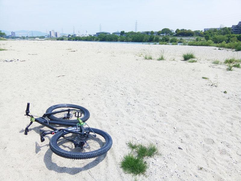 2018年5月武庫川の河原