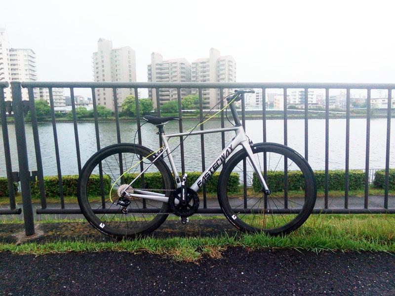 ロードバイクをフラットバー化