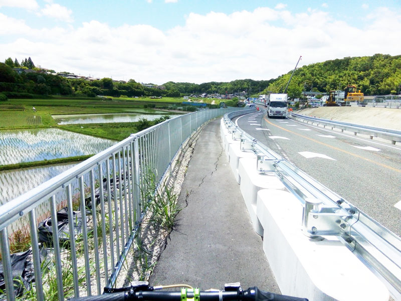 大阪清滝峠経由で四条畷方面へ