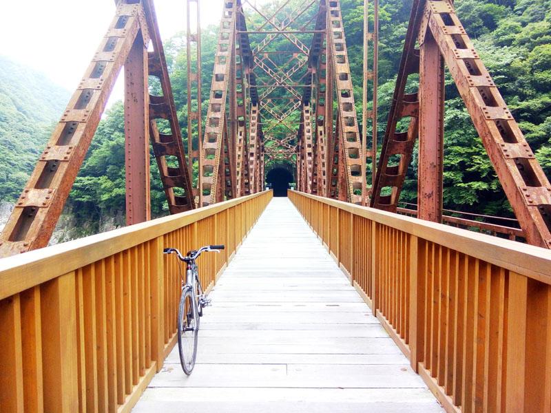 フォトジェニックな鉄橋
