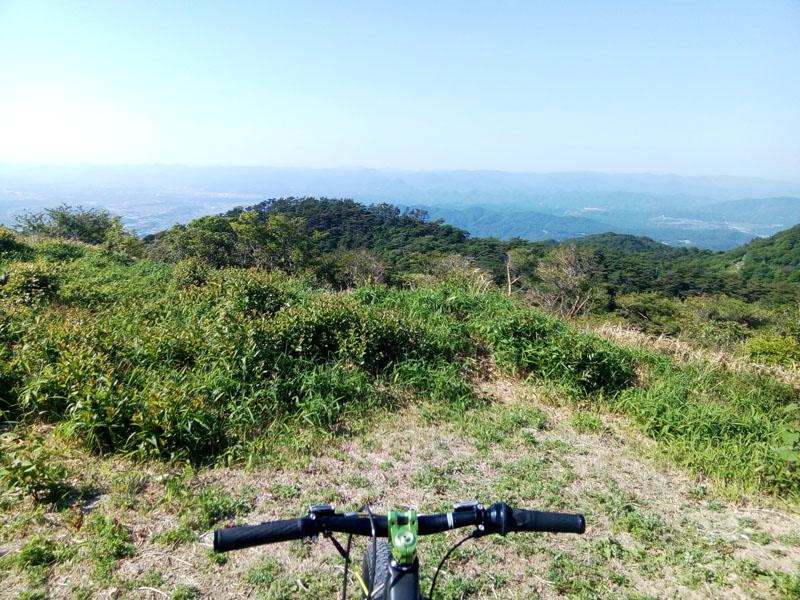 六甲山頂より北側の風景